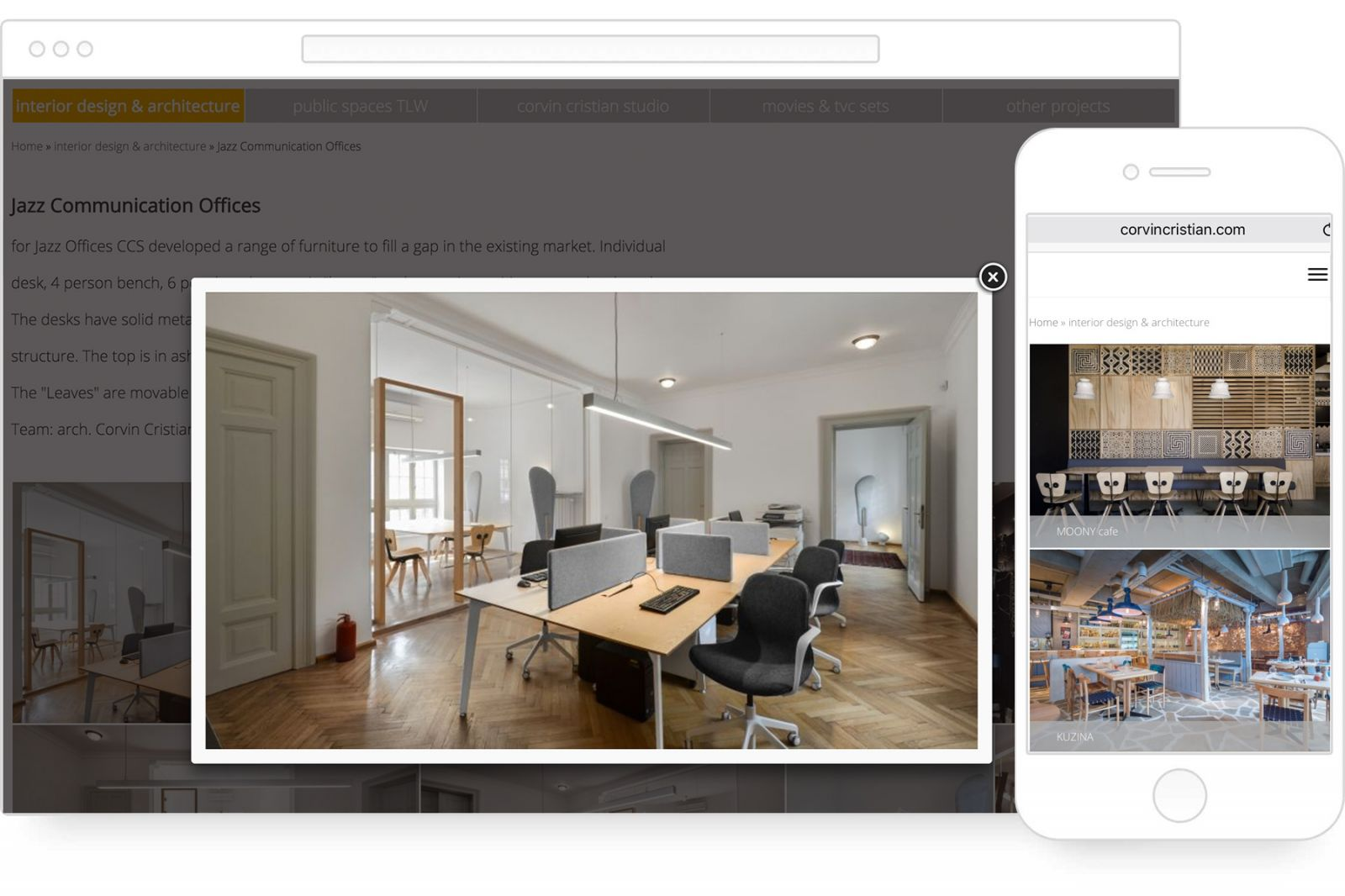 Corvin Cristian Studio - Architektur und Innenarchitektur